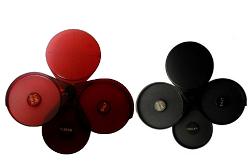 Escarchador para Vasos Rojo/Negro