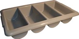 Caja Plástica para Cubiertos (4 compartimientos)