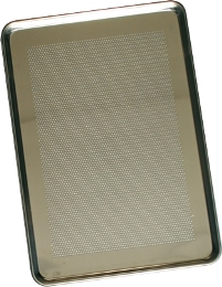 Charola de Aluminio Panadera 30cm x 45cm Perforada