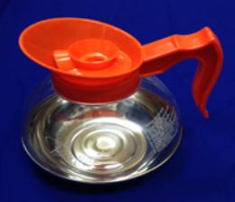 Jarra Cafetera 1.7 Lts Policarbonato/Aluminio Naranja