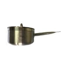 Salsera de Acero Inox con Fondo Difusor 6L